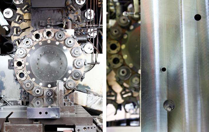 ガンドリル長穴加工 中ぐり盤